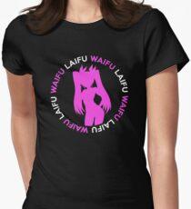 Waifu Laifu Inspired Shirt Women's Fitted T-Shirt