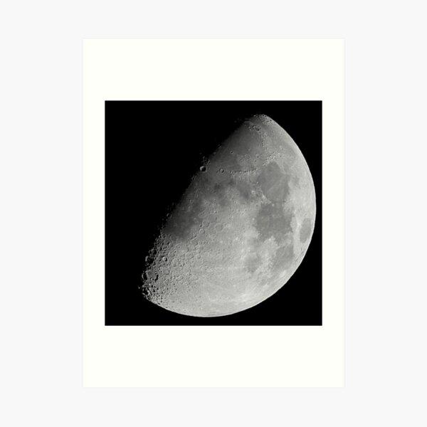 lunar image Art Print