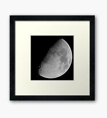 lunar image Framed Print