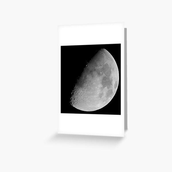 lunar image Greeting Card