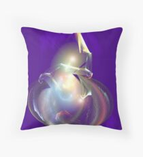 Genies Lamp Throw Pillow