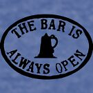 The bar is always open  by bywhacky