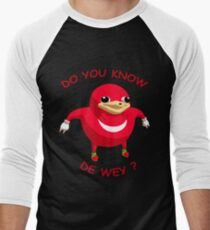 Ugandan Knuckles - Do You Know The Way Men's Baseball ¾ T-Shirt