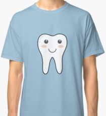 Simple Smiling Tooth Classic T-Shirt