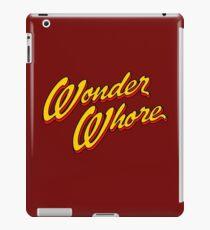 The Wonder Whore Of The Universe Slogan iPad Case/Skin