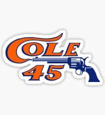 Gerrit Cole - Cole 45 Astros Sticker