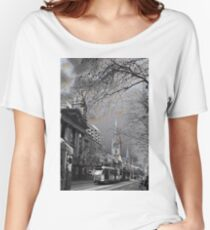 Swanston Street Walk Women's Relaxed Fit T-Shirt