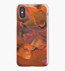 Fall Thoughts II - Abstract Acrylic Painting iPhone Case/Skin