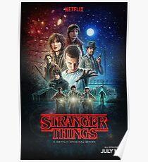 Stranger Things Season 1 Poster [UPDATED] Poster