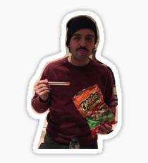 i love my cheeto son (oscar isaac) Sticker