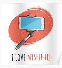 I Love Myself-ie! Poster