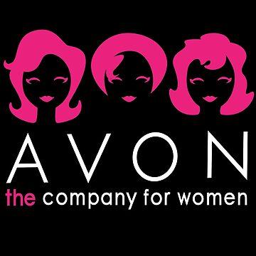 Avon Inspired Marketing Goodies :  Hot Pink & Black by bleaufire