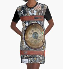 Cyberpunk, Steampunk, Technopunk, Science fiction,  SF, sci-fi,  speculative fiction Graphic T-Shirt Dress