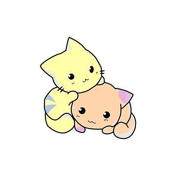 Sweet cats by hammermnn