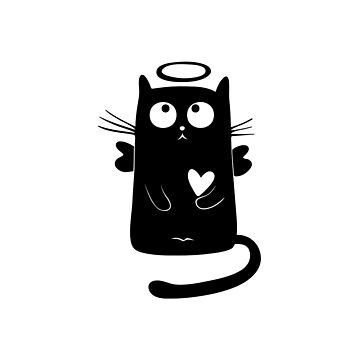 Angel cat by hammermnn