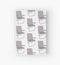 Lawn chair Hardcover Journal