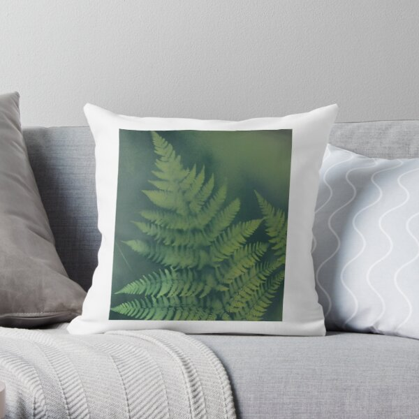 Alaskan Fern  Throw Pillow
