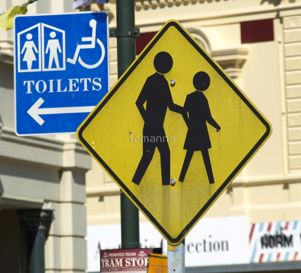 Wrong way for the toilets... by tamanna