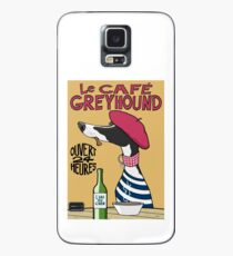 Le Café Greyhound Case/Skin for Samsung Galaxy