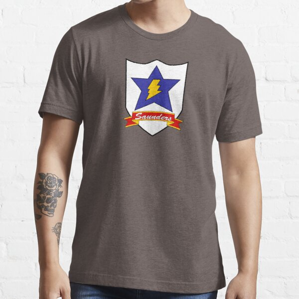 Saunders Crest Essential T-Shirt