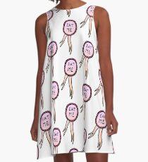 EAT ME A-Line Dress