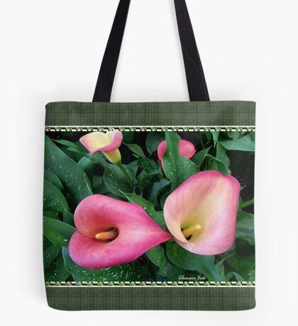Beautiful, Simple, Colorful Callas Tote Bag