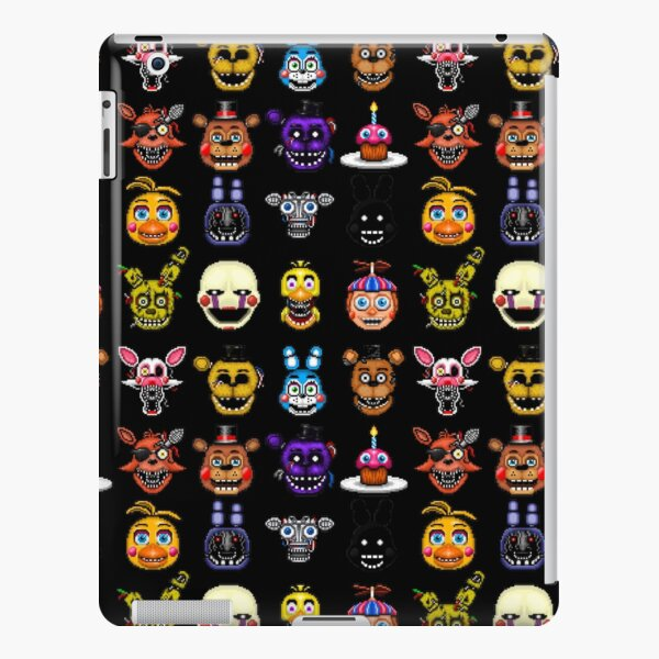 Five Nights at Freddy's - Pixel art - Multiple Characters iPad Snap Case
