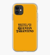 Written and directed by Tarantino iPhone Case