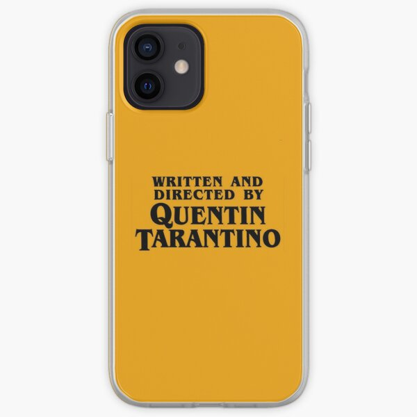 Written and directed by Tarantino iPhone Soft Case