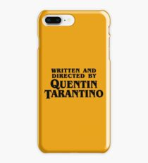 Written and directed by Tarantino iPhone 8 Plus Case
