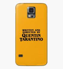 Drehbuch und Regie von Tarantino Hülle & Klebefolie für Samsung Galaxy