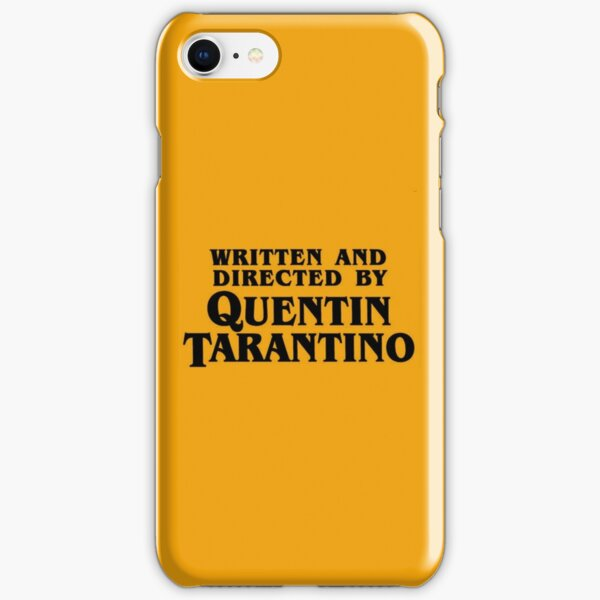 Written and directed by Tarantino iPhone Snap Case