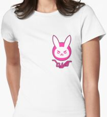 D.Va Bunny Logo Women's Fitted T-Shirt