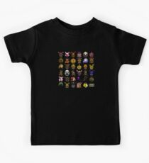 Five Nights at Freddy's - Pixel art - Multiple Characters New Set Kids Tee