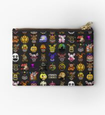 Five Nights at Freddy's - Pixel art - Multiple Characters New Set Studio Pouch