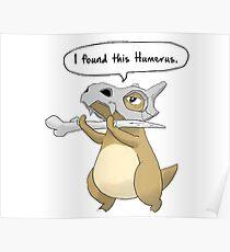 pokemon, humerus Poster
