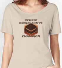 Retired Bronze League Champion Women's Relaxed Fit T-Shirt