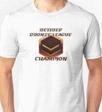 Retired Bronze League Champion Unisex T-Shirt
