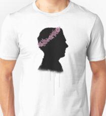 Cumberbatch in a flower crown Unisex T-Shirt