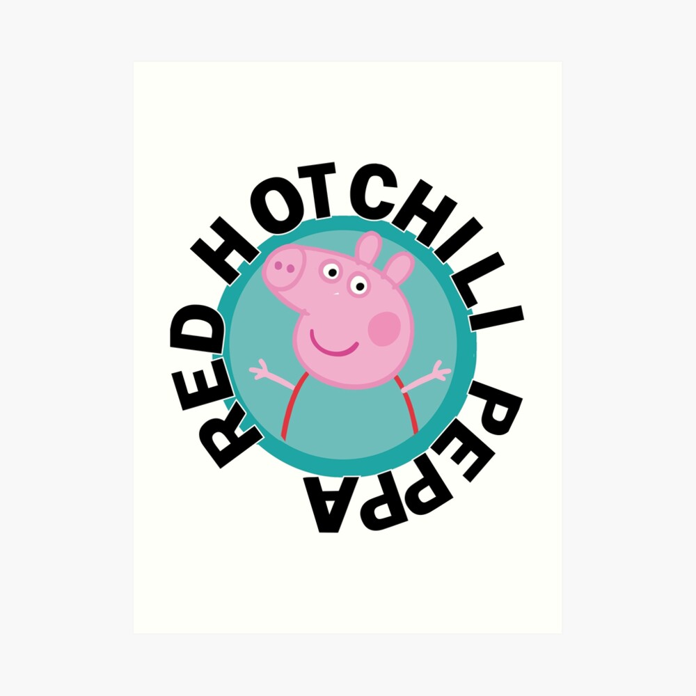 Red hot Chili Peppa Art Print