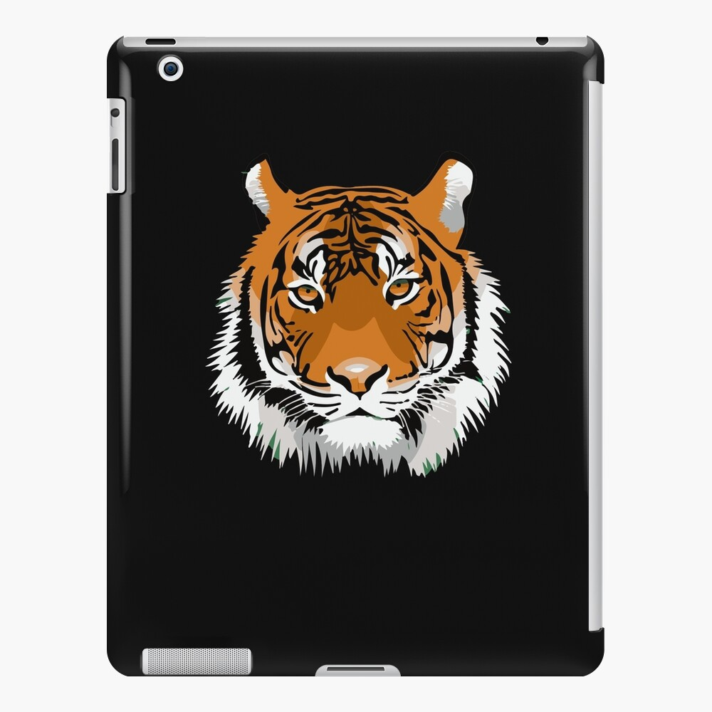 Tiger Head Hunter Wild Animal Art Print Tiger Face Animal Lover iPad Case & Skin