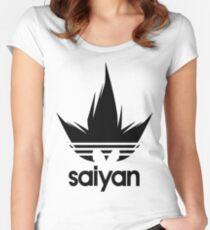 Vegeta Saiyan - Dragon Ball Z Women's Fitted Scoop T-Shirt