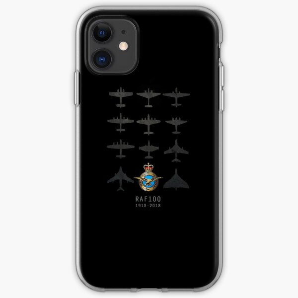 RAF100 - The Bombers iPhone Soft Case