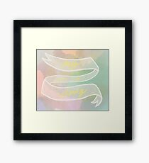 My year of doing Framed Print