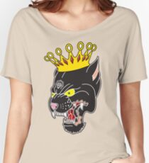 King of the Panthers Women's Relaxed Fit T-Shirt