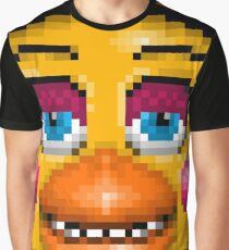 Five Nights at Freddy's 2 - Pixel art - Sexy Chica Graphic T-Shirt