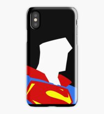 Superman Simplistic iPhone Case/Skin
