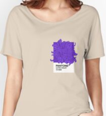 PANTONE Ultra Violet 2018 Women's Relaxed Fit T-Shirt