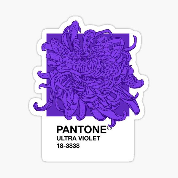 PANTONE Ultra Violet 2018 Pegatina