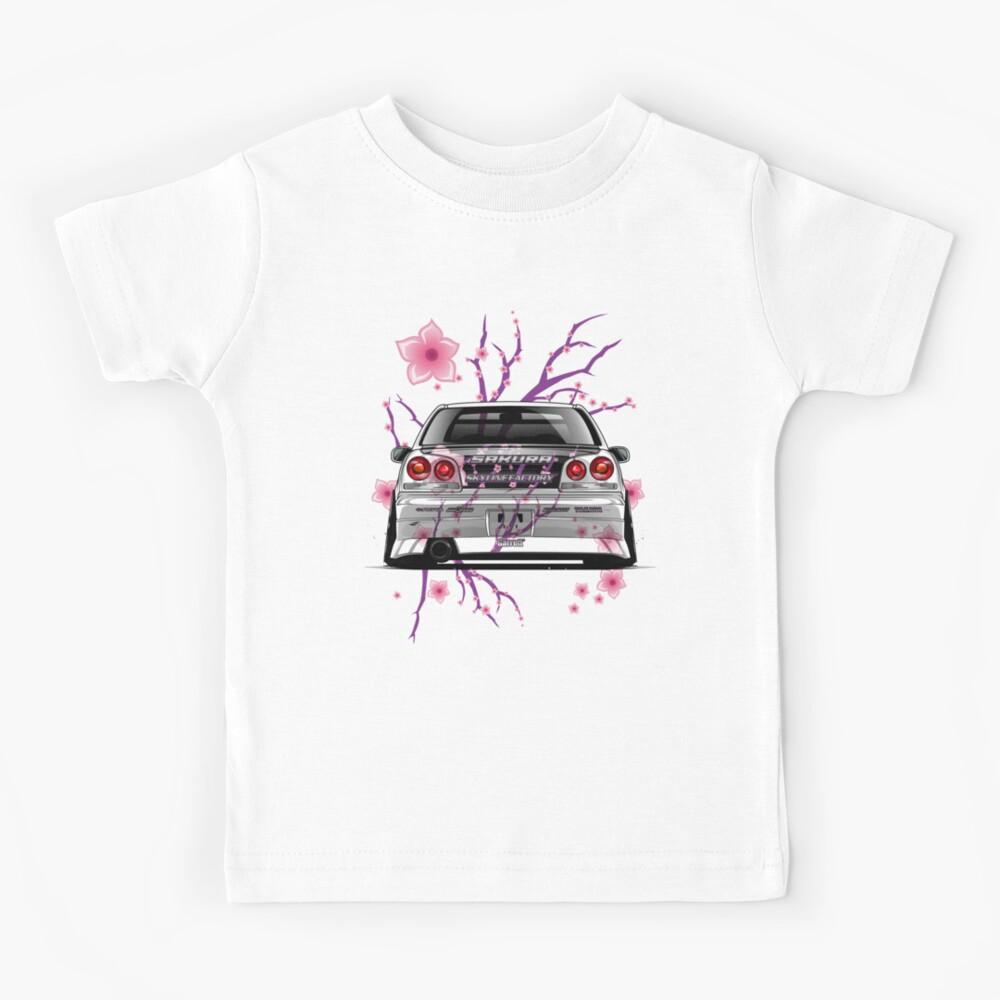 FUTURE GTR driver NISSAN FUN Unisex KURZARM//LANGARM KINDER//KID//TEENAGE T-Shirt